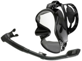 Cressi Scuba Diving Snorkeling Freediving Mask Snorkel Set Review
