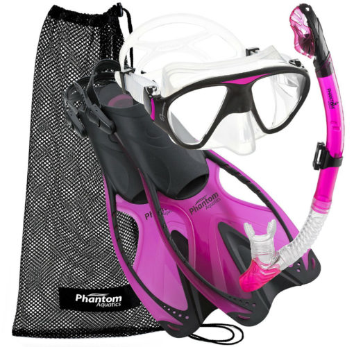 Phantom Aquatics Adult Speed Sport Mask Fin Snorke