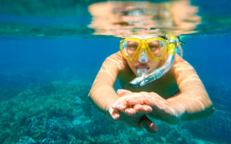 Using a Full Face Snorkel Mask